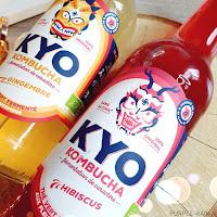 Kyo Kombucha : Hibiscus ou Gingembre