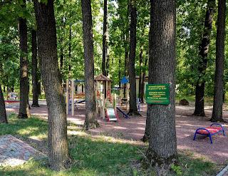 Графское. Гостинично-оздоровительный центр «Форест-Парк». Детская площадка