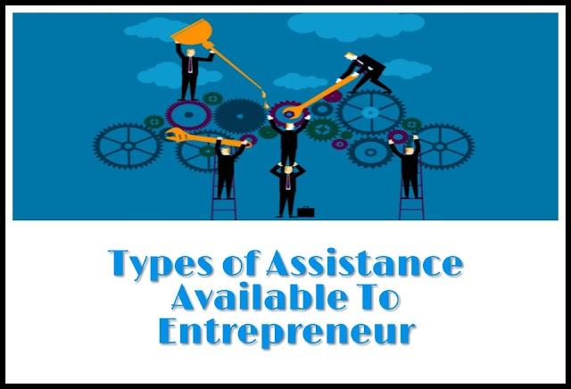 How Many Types of assistance available to  entrepreneur from Agencies ?
