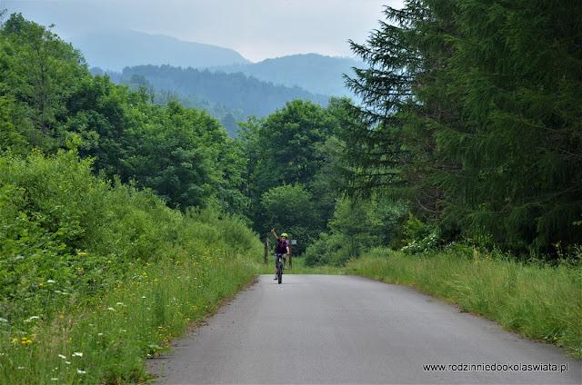 Bieszczady z dziećmi- Rowerem przez Bieszczady Odnalezione oraz Rezerwat Przyrody Sine Wiry