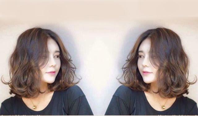 Kiểu tóc ngang vai với phần mái bay hoặc mái thưa tạo nên diện mạo vô cùng trẻ trung của các quý cô tuổi 35