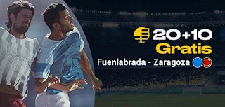 bwin promo Fuenlabrada vs Zaragoza 16-10-2019