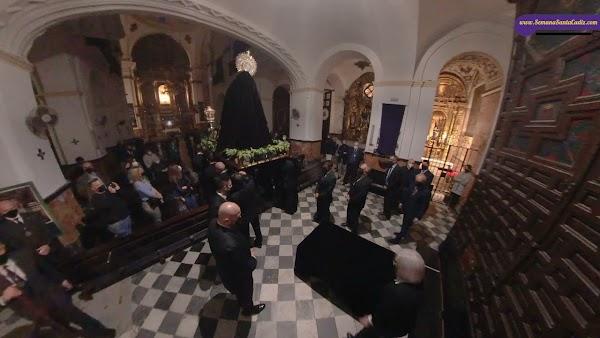 Traslado Virgen del Mayor Dolor (Buena Muerte) de Cádiz el Viernes de Pasión 2021
