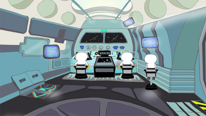 space shuttle interior design - photo #37