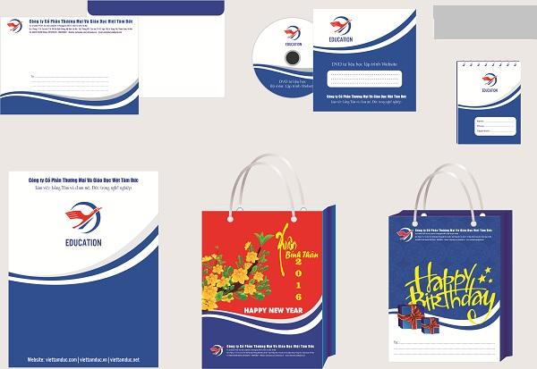 Bộ nhận diện thương hiệu từ học illustrator tại Sóc Sơn của học viên