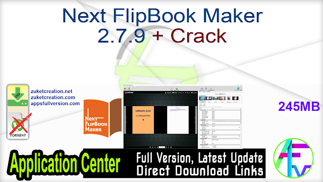 Next FlipBook Maker 2.7.9 + Crack