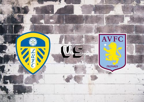 Leeds United vs Aston Villa  Resumen