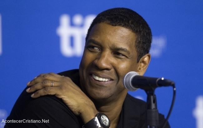 Denzel Washington comparte el Evangelio