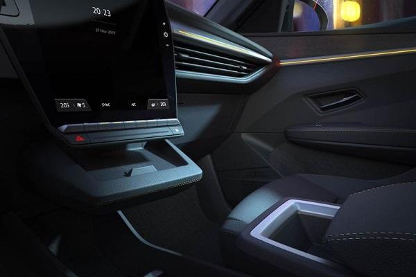 Interior Renault Mégane E-Tech Electric