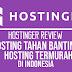 Review Hostinger: Hostinger Indonesia, Web Hosting Tahan Banting Termurah di Indonesia