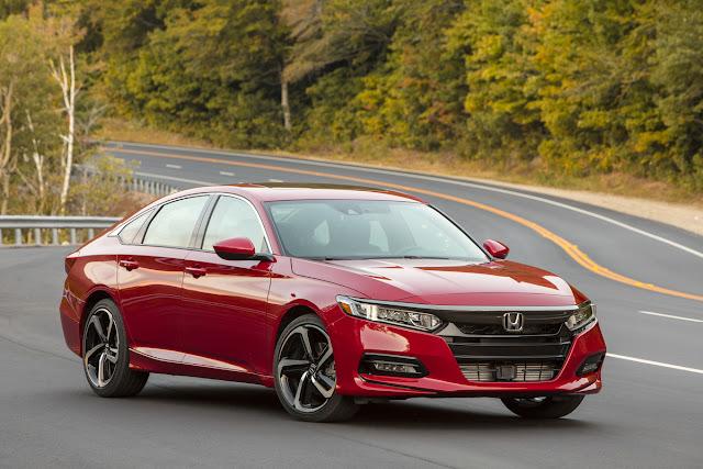 Honda Accord and Ridgeline Named APEAL Award Winners by J.D. Power