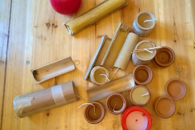 laboratorio di candele per bambini