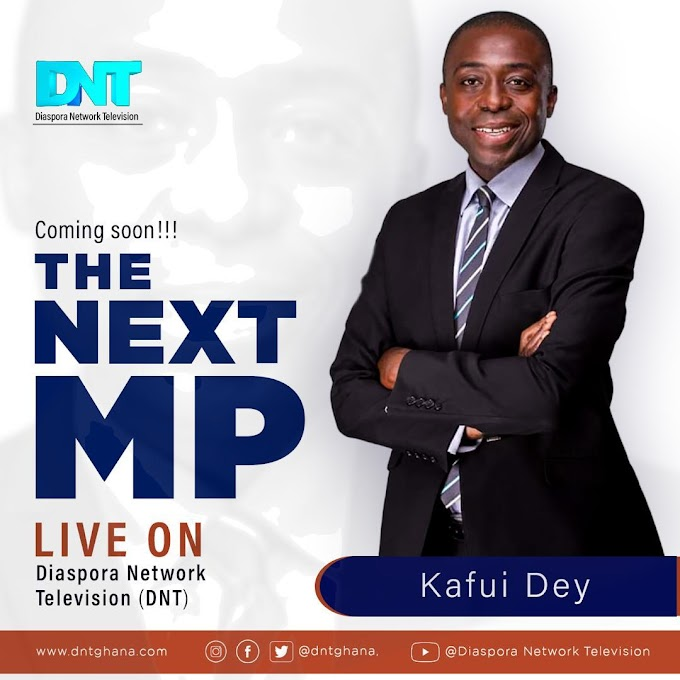 Kafui Dey joins Diaspora Network Television (DNT)