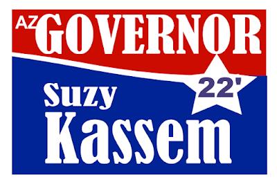 Democrat Suzy Kassem for Arizona Governor