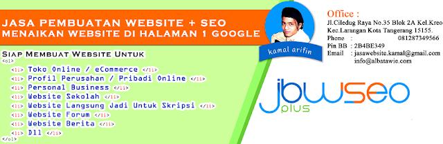 Jasa Website Ciledug, Jasa Bikin Web di Ciledug, Jasa Buat Web