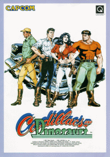 cadillacs and dinosaurs arcade game portable