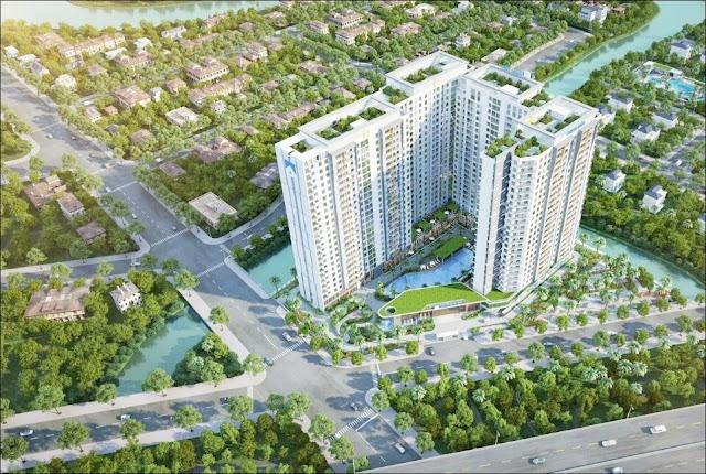 Bán căn hộ La Alba Khang Điền Quận 9 Song hành
