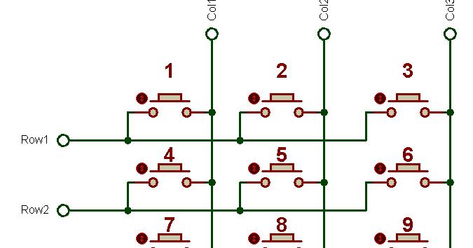 My Tinkering With Arduino: Interfacing Keypad with Arduino