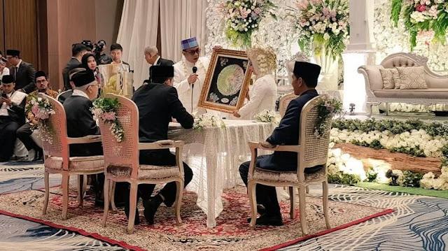 KH Ma'ruf Amin Mantu, Presiden Jokowi Jadi Saksi