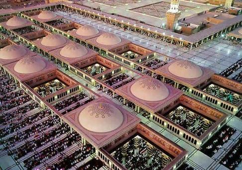 Rindu Masjid Tokoh Dibalik Sliding Dome Dan Payung Masjid Nabawi