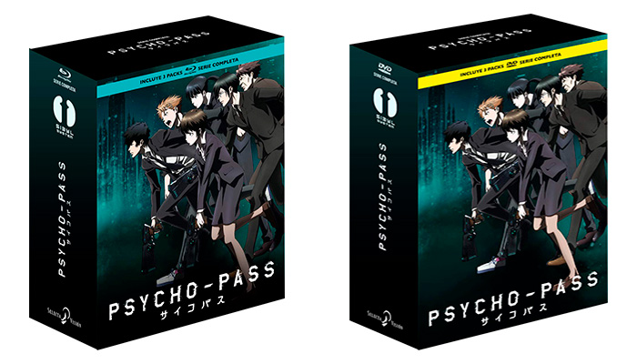 Psycho-Pass: Serie completa + Peliculas
