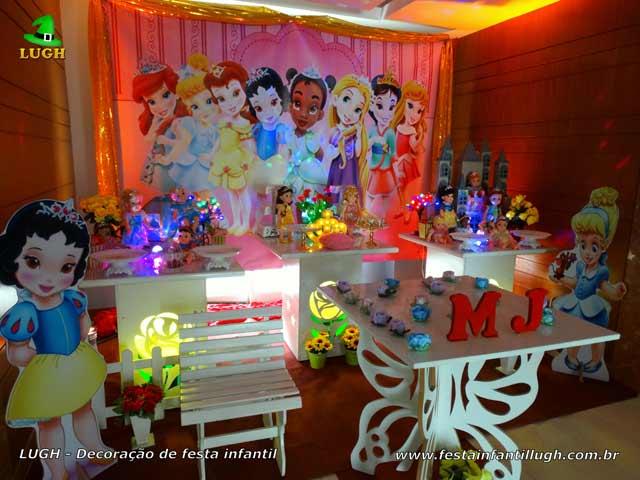 Decoração de festa Princesas Baby Disney - Aniversário infantil