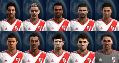Facepack River Plate 2016 - Liga Argentina Pes 2013