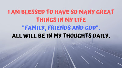 I am blessed to have so many great | Beautiful  my life quotes