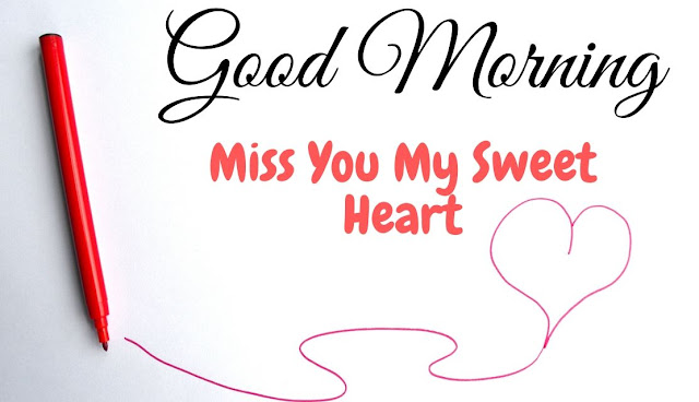 Romantic Good Morning Miss You HD Image for Love