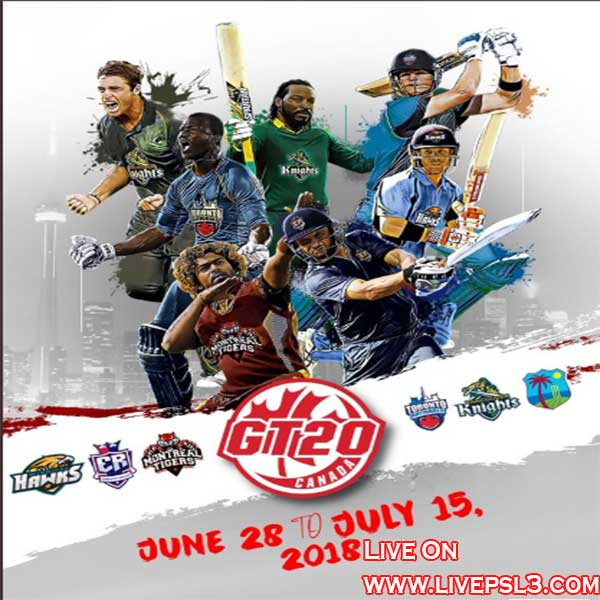 live GT20 canada 2018