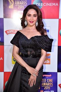Madhuri Dixit At Zee Cine Awards 2019