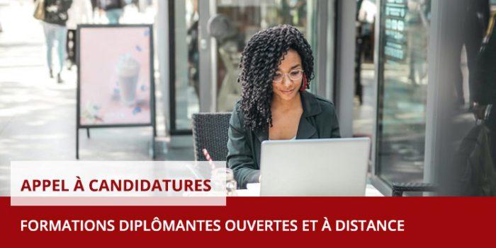 Appel à candidatures – Inscriptions aux Formations Ouvertes et À Distance (FOAD) – 2021/2022