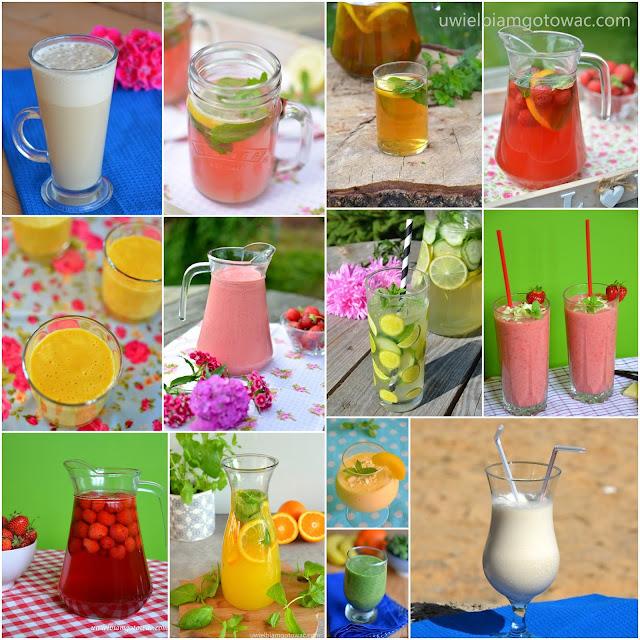 Pyszne i orzeźwiające napoje na upały