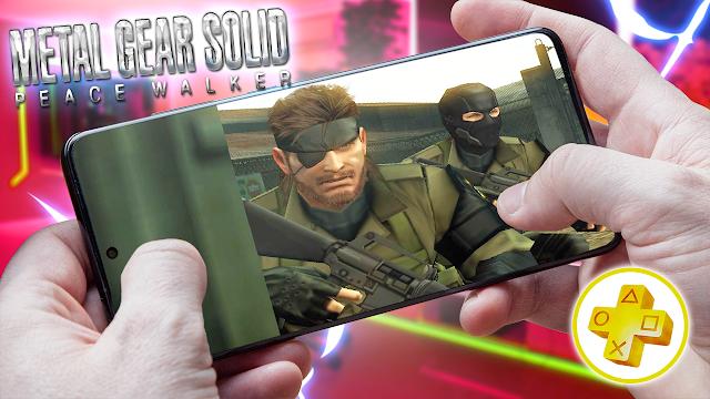 Metal Gear Solid: Peace Walker Para Android (Configuraciones) [ROM PSP]