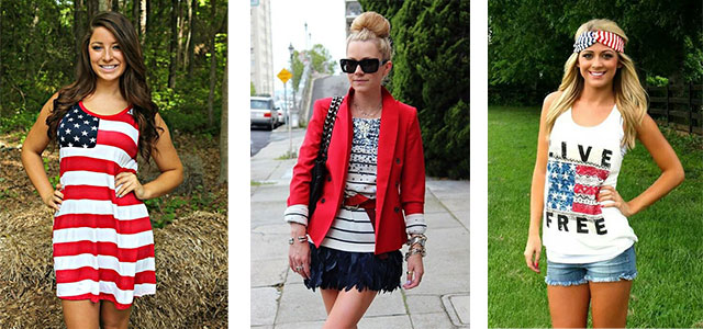 4th July Outfits Ideas 2016 | Independence Day USA Fourth July Dress Ideas