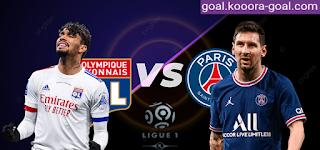 موعد ومشاهدة مباراة باريس سان جيرمان وليون بث مباشر كورة جول اليوم 19-09-2021 في الدوري الفرنسي kora goal