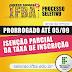 EDUCAÇÃO: PRORROGADO PRAZO PARA SOLICITAR ISENÇÃO PARCIAL DA TAXA DE INSCRIÇÃO NO PROCESSO SELETIVO 2020 IFBA