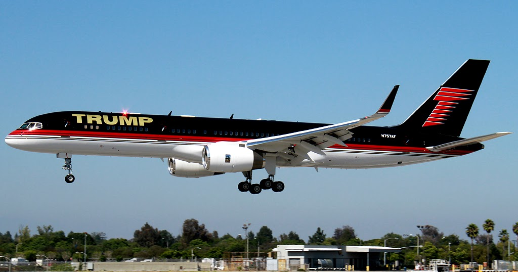 DAILY POST: Check the luxury plane DONALD TRUMP will be ...