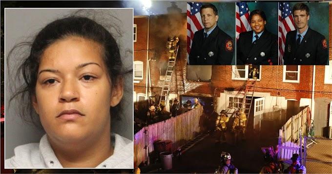 Dominicana culpable por muertes de tres bomberos en incendio intencional en Delaware será sentenciada a 17 años de cárcel