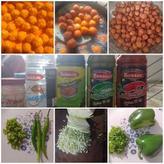Ingredients-for-making-Manchurian-Fritters