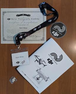 April Alsup DJI training Certificate