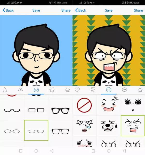 تطبيقات لإنشاء رموز تعبيرية بوجهك على اندرويد