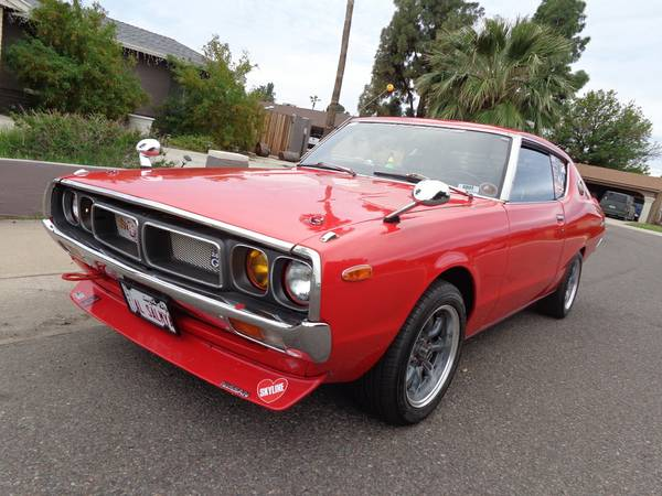 1977 Nissan Skyline Kenmeri GT