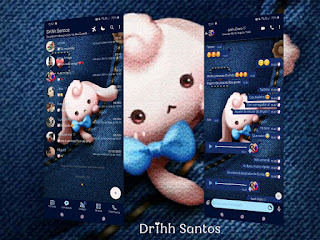 Teddy Girl Theme For YOWhatsApp & Fouad WhatsApp By Driih Santos
