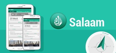Salaam aplikasi pengingat sholat, imsak, qur'an dan kajian harian