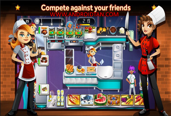 Free Download GORDON RAMSAY DASH Mod Apk v1.11.8 (Unlimited Money) Android Terbaru 2017