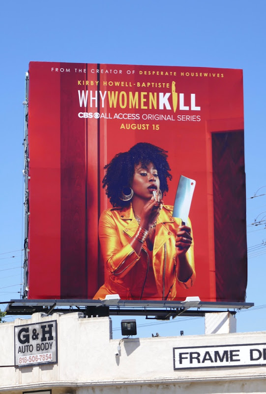 Why Women Kill Kirby Howell-Baptiste billboard