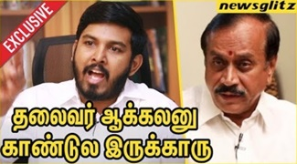 Aloor Shanavas lost temper with H Raja activity | Interview