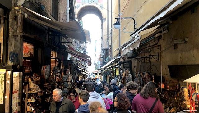 Via dei Presepi Napoli