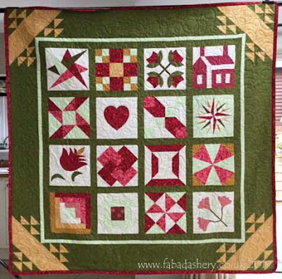 'Country Sampler' Quilt